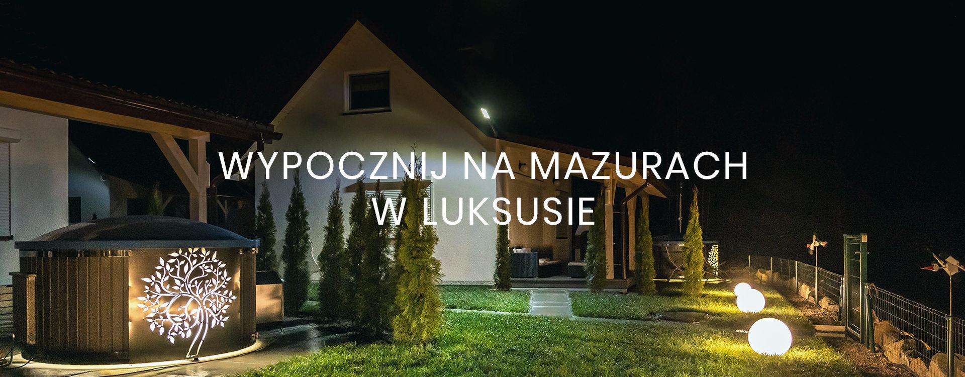Apartament na Mazurach nad jeziorem