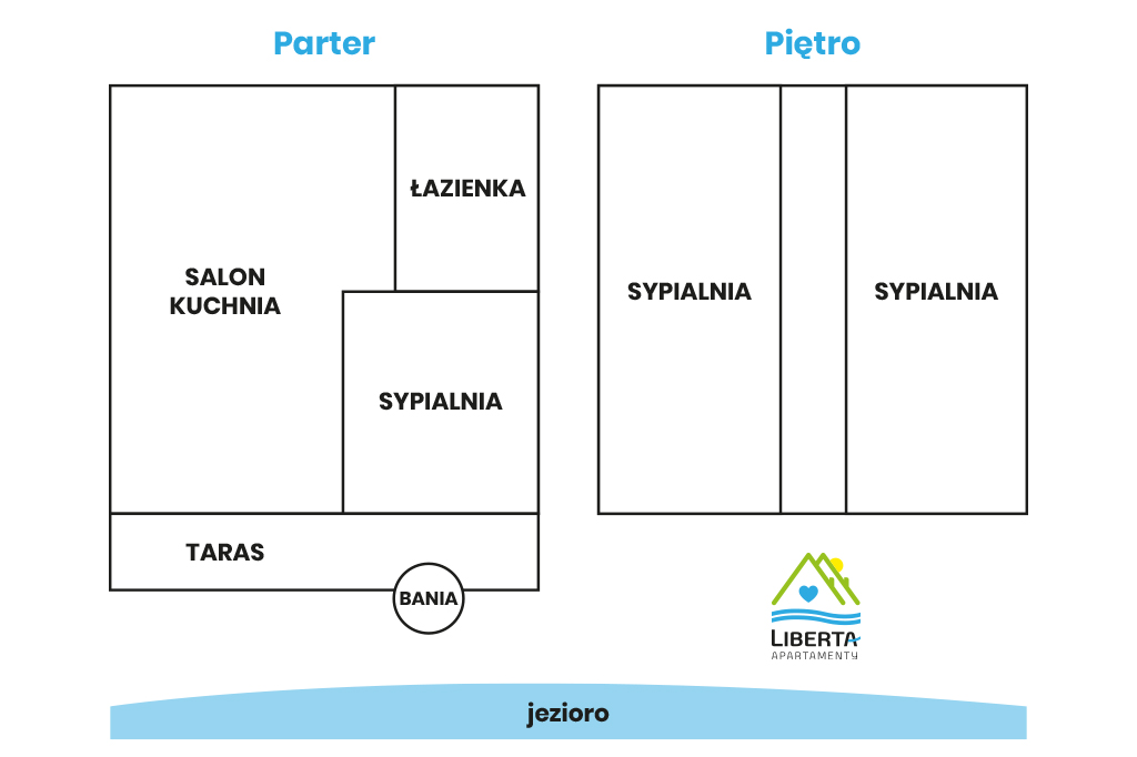 plan apartamentu nadjeziorem